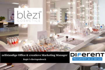 zelfstandige Office Manager creatieve Marketing Manager